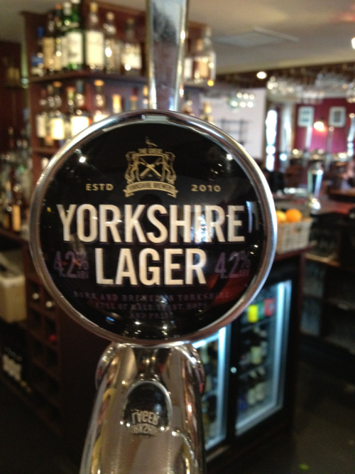 New on the bar today - an easy drinking lager made in the American style- late hopped and very tasty.