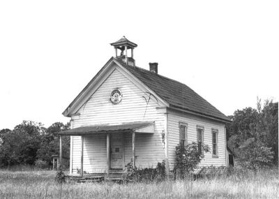 "virginia-gal:  ""Number 18"" schoolhouse in Marshall, Virginia, circa 1887"