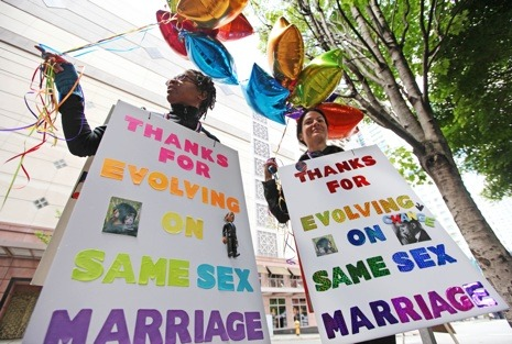 newyorker:  There was another big win for gay marriage today, as the Defense of Marriage Act was ruled unconstitutional by a Federal appeals court: http://nyr.kr/LKJ8mS