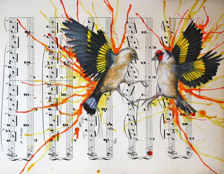 Louise McNaught.The Dance.