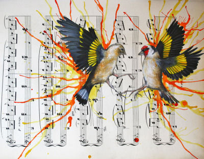 darksilenceinsuburbia:   Louise McNaught.The Dance.