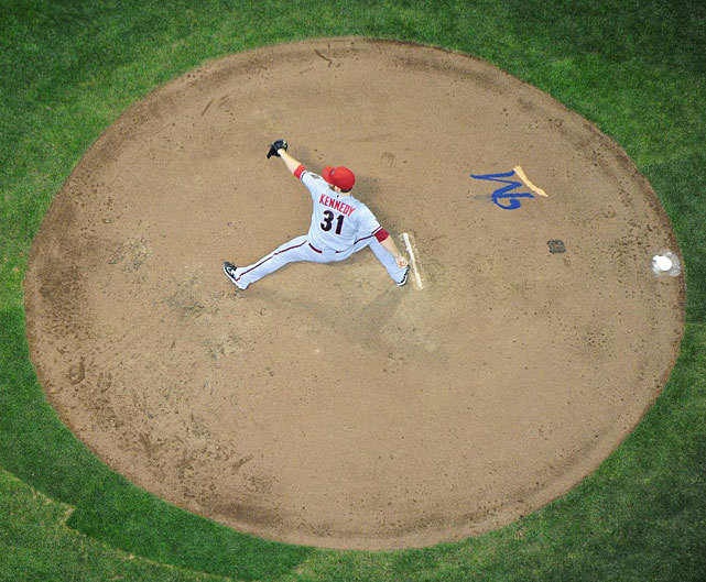 siphotos:  Ian Kennedy delivers a pitch during a 2011 game against the Brewers. SI asked 293 MLB players to choose the most underrated pitcher in the game. Kennedy came in at No. 9. Find out who else made the list in the link below. (John Biever/SI) GALLERY: MLB Players Poll: Most Underrated Pitcher