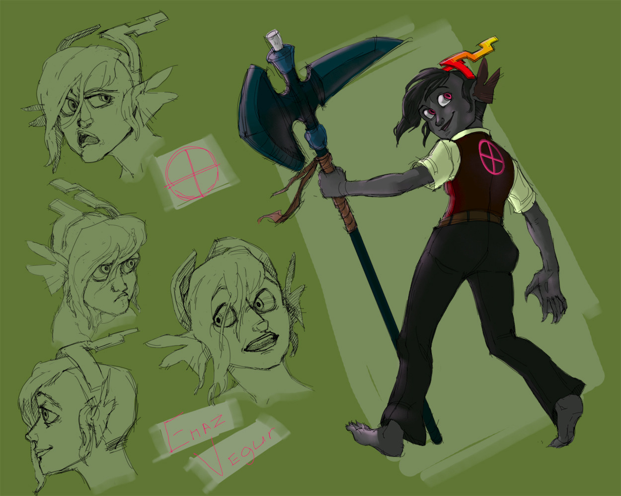 Drawing forever into oblivion, also this is my Homestuck troll… that is all I have to say really.