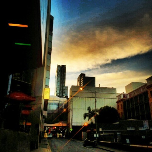 Morning walk to work… #Melbourne  (Taken with instagram)