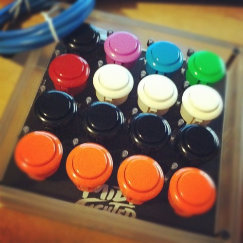 My custom midi fighter. (Taken with instagram)