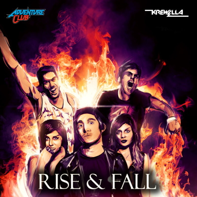 "MP3: ADVENTURE CLUB & KREWELLA - ""RISE & FALL"""