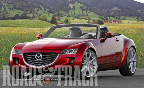 Mazda and Alfa Romeo are teaming up for next-generation MX-5 Miata and Spyder. The new roadster could be 200 lb. lighter and have improved performance with Mazda's SkyActiv. (Source: Road & Track)