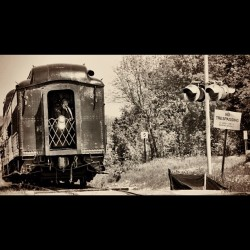 #train #duluth #minnesota #duluthmn #rail #railroad #tracks #old #look #edit #filter #rails #trains #person (Taken with instagram)