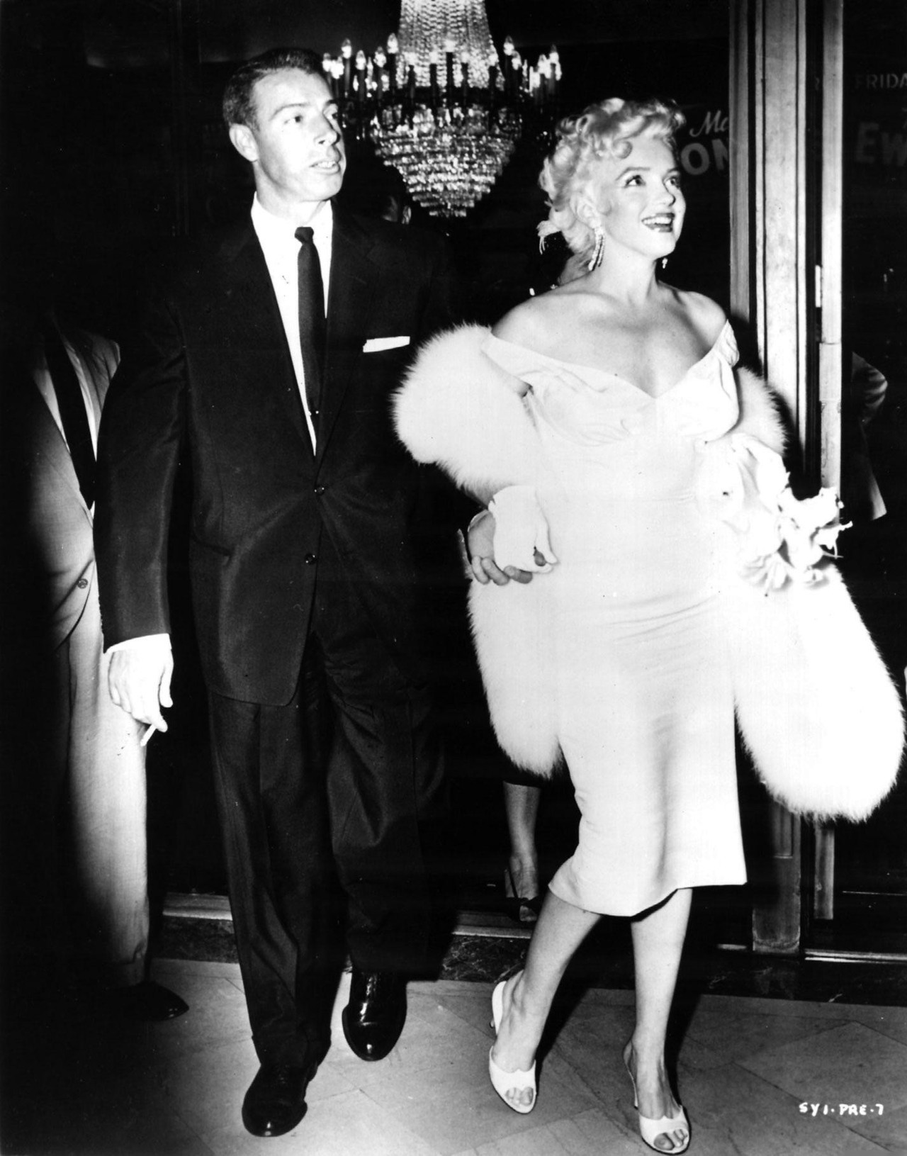 alwaysmarilynmonroe:  Happy Birthday Marilyn! Marilyn and Joe attending the world premiere of The Seven Year Itch on her 29th birthday, June 1st 1955.