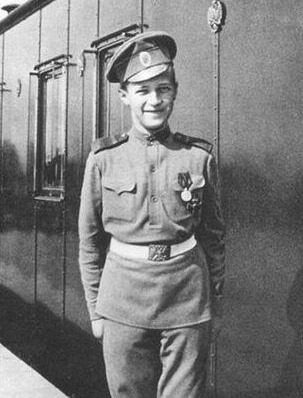 My history crush is Tsarevich Alexei Nikolaevich Romanov of Russia.