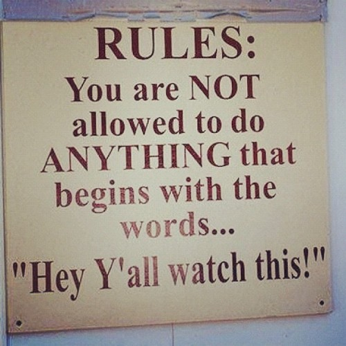 baambii:  So funny #redneck #country #yall #cute #rules #funny #tubing (Taken with instagram)
