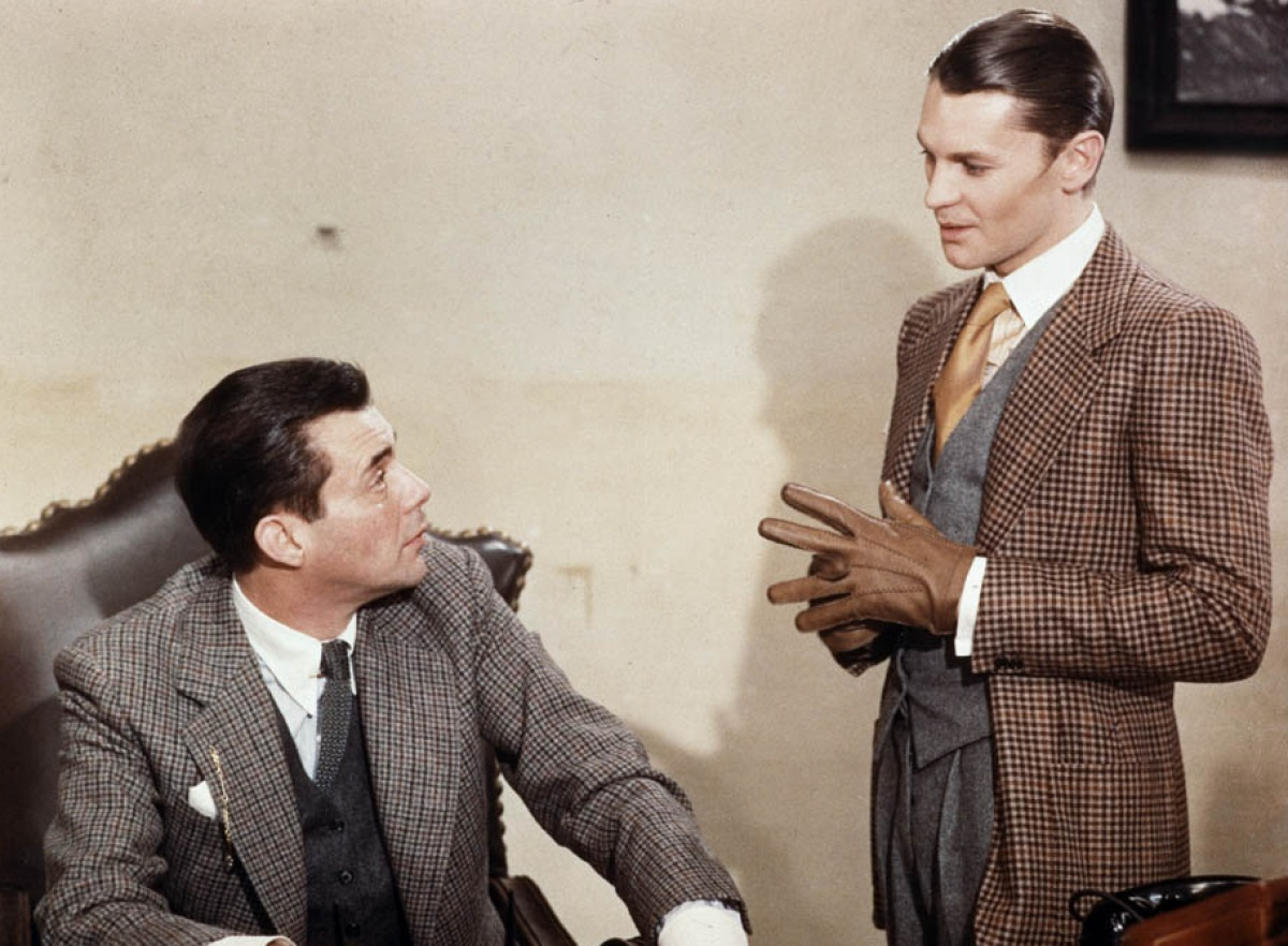 Dirk Bogarde & Helmut Berger in Luchino Visconti's lavishly stylish film 'The Damned' ( via marycbrown )