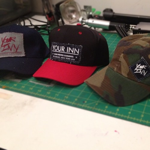 #yourinn headwear coming soon (Taken with instagram)