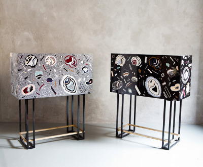 Hot Rock, cabinets by incredible product designer Bethan Laura Woodwww.woodlondon.co.uk