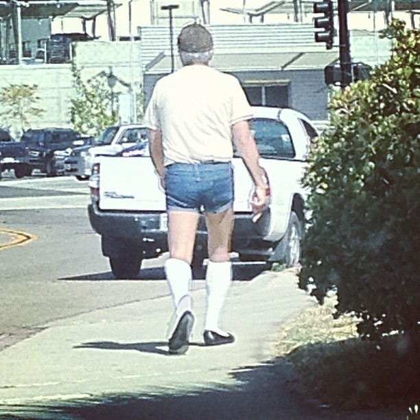 Bringing daisy dukes back in el cajon(; (Taken with instagram)