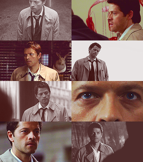 cumberarse:  The first and last times we see Castiel in seasons 4-7