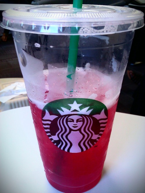 Passion lemonade ice tea