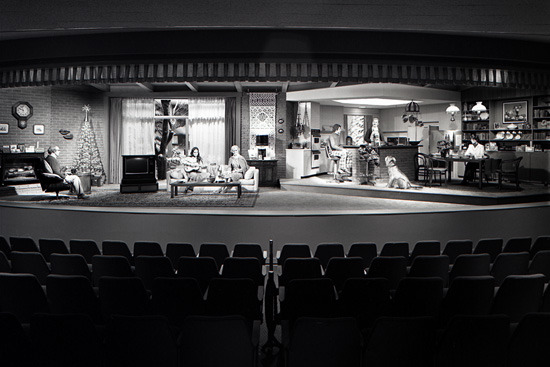 The final scene of Walt Disney's Carousel of Progress back in May 1975