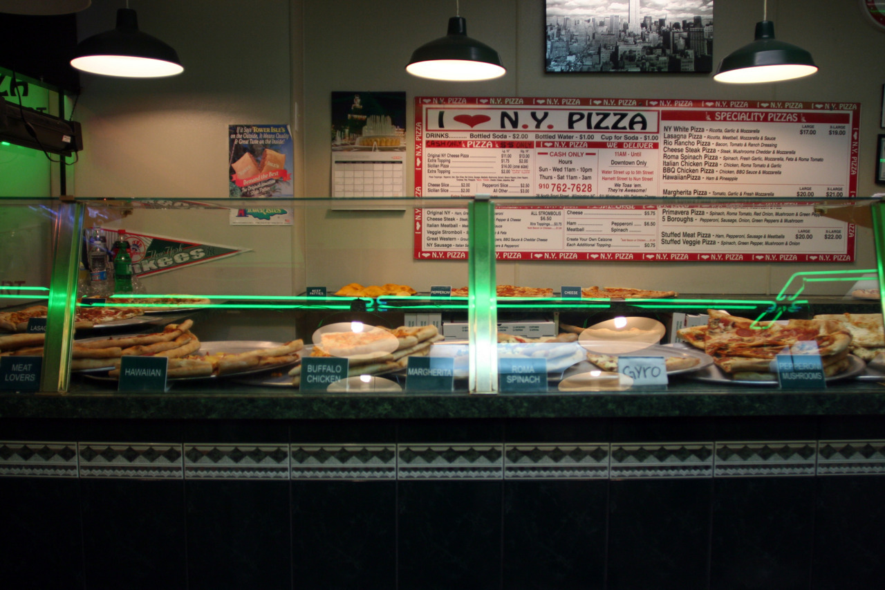 Blue Post & I love New York Pizza - Wilmington, North Carolina Two of my favorite spots back home; Blue Post and I Love New York. I've yet to find a replacement for either here in Greensboro and I probably never will. But I'm OK with that.