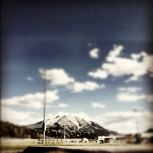 #sopris is such a #cool #mountain.  (Taken with instagram)
