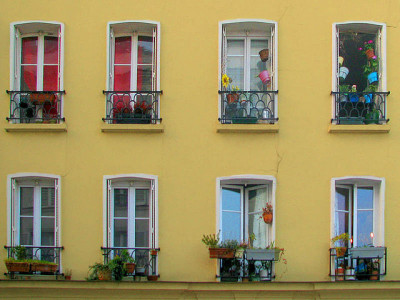 Windows of Paris by Storm Crypt on Flickr.