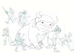 team avatar sketch