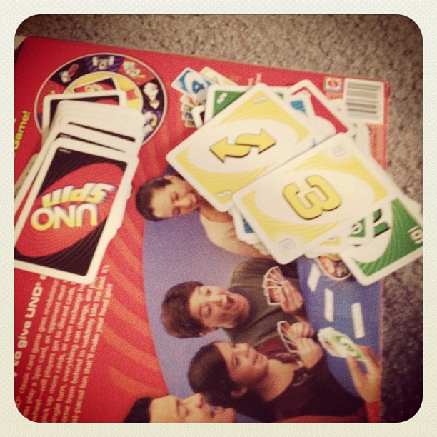 I'm the UNO champion!!!!! #kidduty  #games (Taken with instagram)