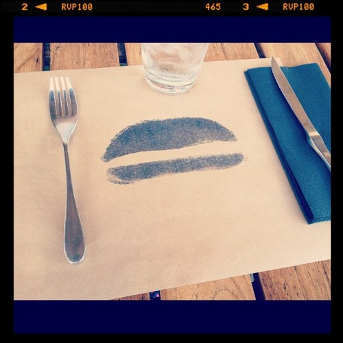 Dinner Date with D. Can you guess where we are? (Taken with instagram)