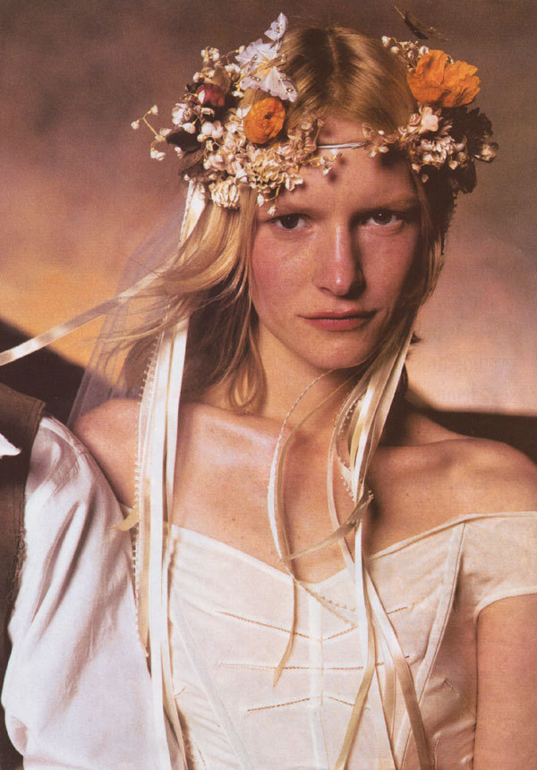 Kirsten Owen by Steven Meisel for Vogue US June 1998   (via imgTumble)