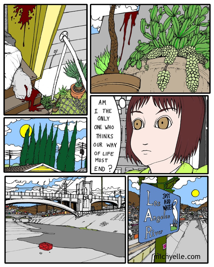 after school special, page nine. by tom hart