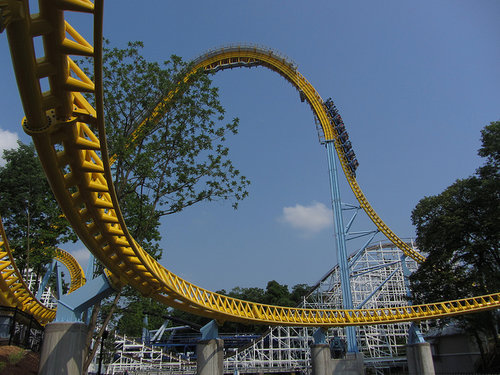 Skyrush at Hersheypark.
