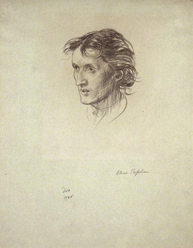 birdsong217:  Francis Dodd - Virginia Woolf (née Stephen) Chalk (1908) © National Portrait Gallery, London