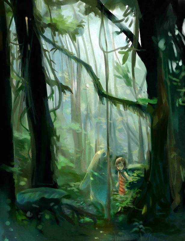 in the forest by ~Joysuke