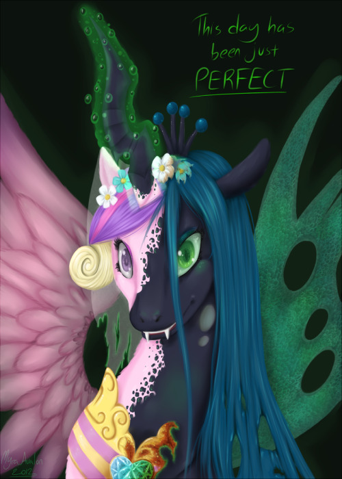 theponyartcollection:  The Perfect Day -Redo- by *Myra-Avalon