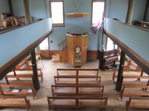Canada's oldest standing United Church (1792) National Historic Site
