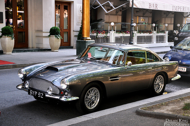 wayne75410:  Aston Martin DB4 by Dylan King Photography on Flickr.