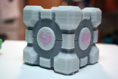 """Companion Cube"" Citrus Soap by Digitalsoaps"