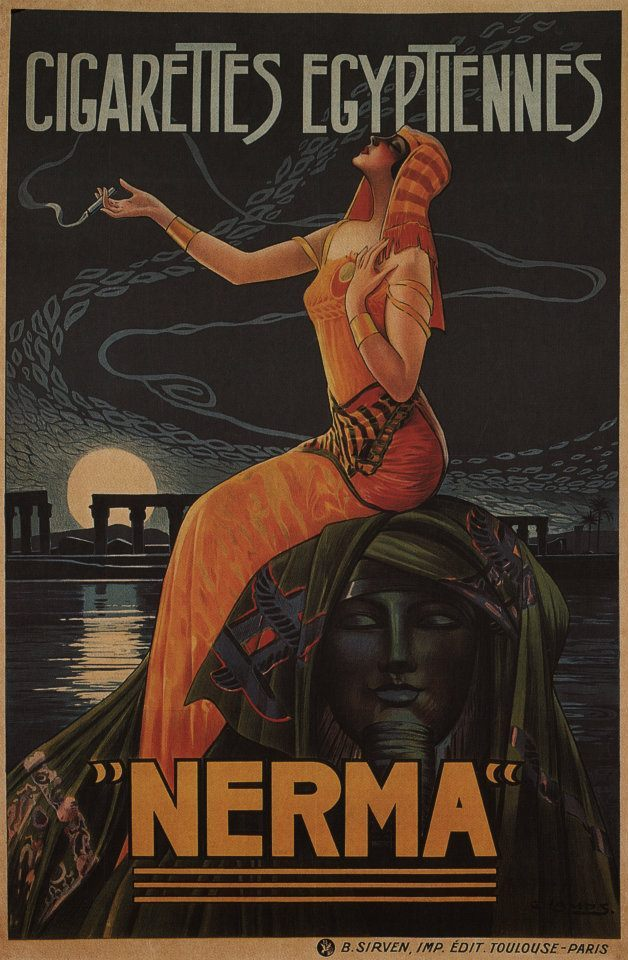 nikkiltree:  Cigarettes Egyptiennes, Nerma cigarettes