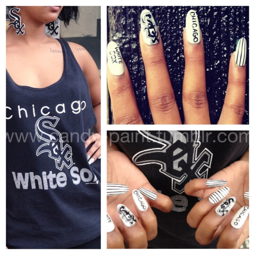 Check the nails I did to match the latest Queens x F as in Frank collabo! View the whole collabo at www.crownthequeens.com