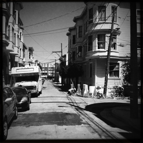 Side street in the Mission.