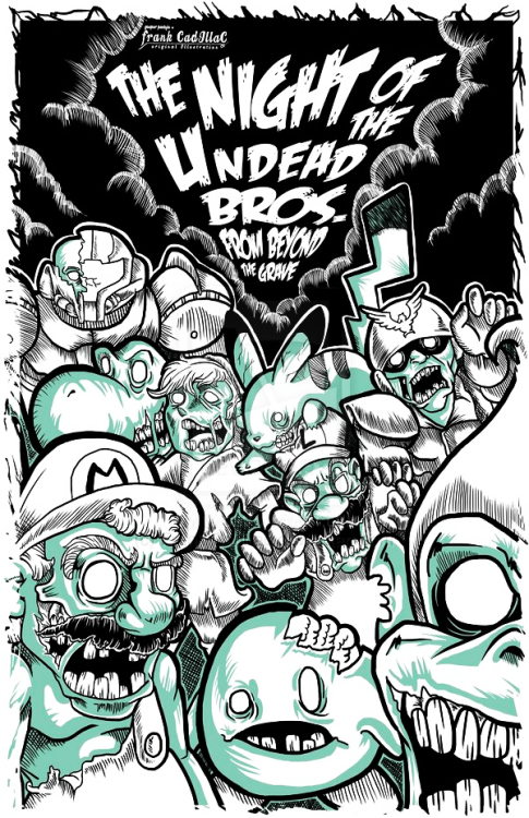 dotcore:  The Undead Bros.by Gäzpar Pantoja.