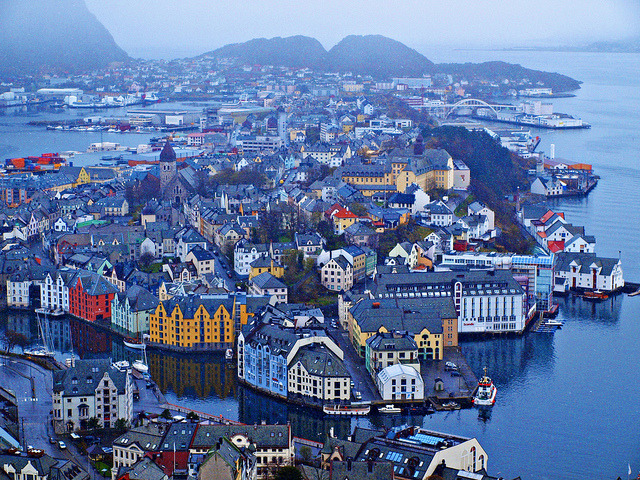 travelthisworld:  Alesund, Norway