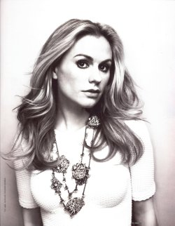 Anna Paquin - Bust by Williams + Hirakawa, June/July 2012  I found a photograph of her at the True Blood premiere yesterday, she was glowing! Her pregnancy makes her look even more gorgeous.