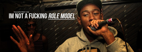 Tyler The Creator Im Not A Role Model Facebook Cover