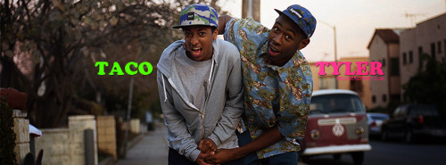 Taco & Tyler The Creator 2 Facebook Cover