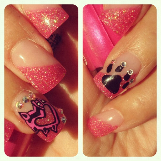 Mom's #nails! #nailart (Taken with instagram)