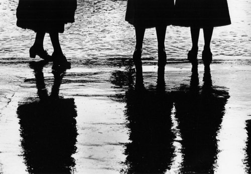 Reflection of Women's Dresses by Gordon Parks.