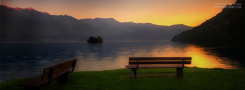 Two Lake Benches Facebook Cover