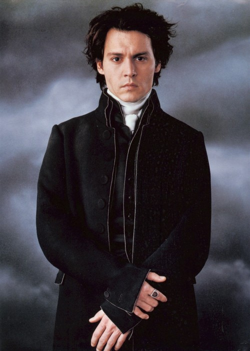 suicideblonde:  Johnny Depp in Sleepy Hollow