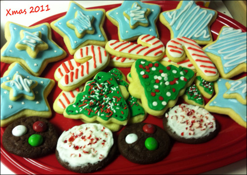 First decorated cookies I made, back in Dec 2011.